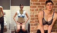 Hem Erkek Hem de Kadın Kıyafetlerinin Modelliğini Yaparak Cinsiyet Kalıplarını Yıkan Androjen Bir Model: Rain Dove