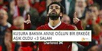 Tüm Dünyayı Büyülemeye Devam Ediyor! Mohamed Salah Roma'yı, Sevenleri de Twitter'ı Yıktı