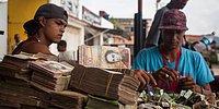 Enflasyonun Tavan Yaptığı Venezuela'nın Değersiz Paralarından Çanta Yapan Sanatçı