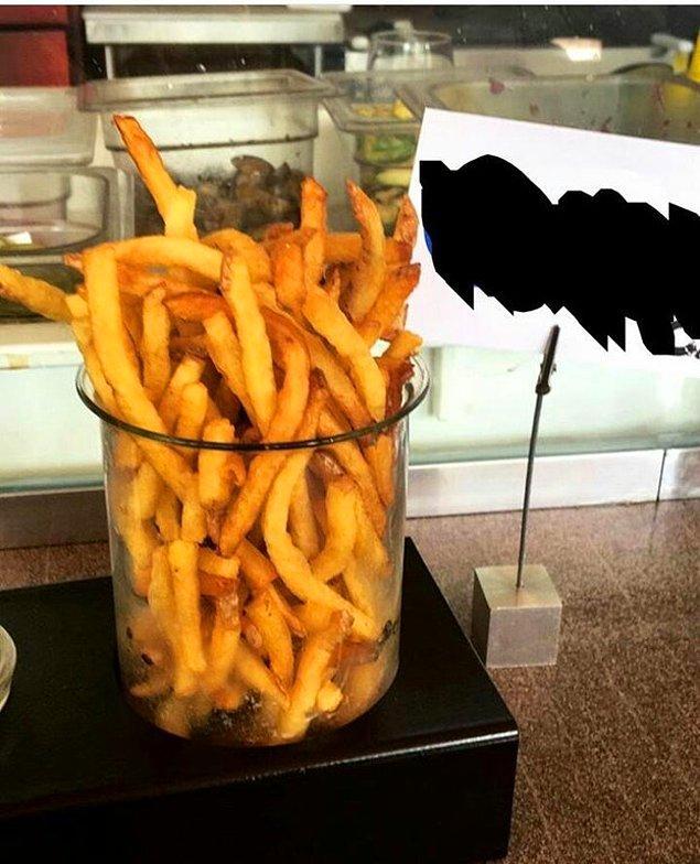 7. Bardakta patates