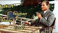 Mustafa Kemal Atatürk Tarafından Türkçe'nin Yaygın Kullanımı İçin Bizzat Verilmiş İsim ve Soyisimler