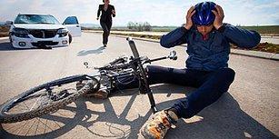Araç Kapılarını Dikkatsiz Bir Şekilde Açarak Bisikletçilerin Hayatını Zulme Dönüştüren Şoförler