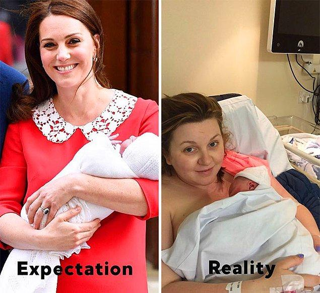 Beklenti vs. Gerçekte olan