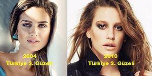 Miss Turkey'de Birincilik Tacını Takamayıp Birinciden Fazla Şöhreti Yakalayan İsimler