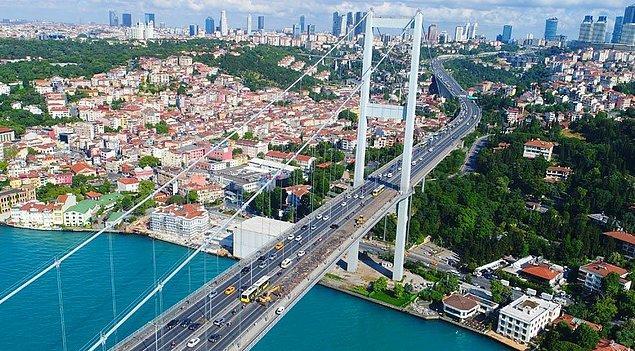 15 Temmuz Şehitler ve Fatih Sultan Mehmet köprülerinden geçen araçlar ilk üç ayda 120 milyon 227 bin 498 TL geçiş ücreti ödedi.