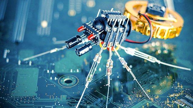 Nano makinelerin insan medeniyetine son verip gezegenimizdeki hakim türe dönüşmesi (Oran: 1'e 100)