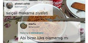 İnternetin En Kendine Has İnsanı Ahmet Vehbi'nin Makarna Paylaşımına Gelen Komik Tepkiler