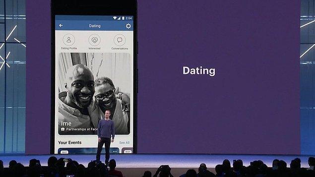 Daha sonra Facebook algoritması kullanıcıya olası eş tavsiyelerinde bulunmaya başlayacak.