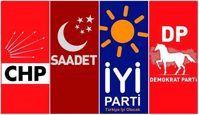 Ve dört muhalefet partisi, 24 Haziran'daki milletvekili seçimlerine ittifak halinde katılma kararı aldı.