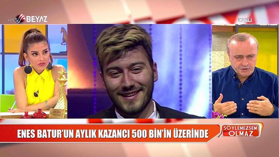 Turkiye Nin En Cok Aboneye Sahip Youtuber I Enes Batur Ayda 530 Bin Tl Kazaniyor Onedio Com