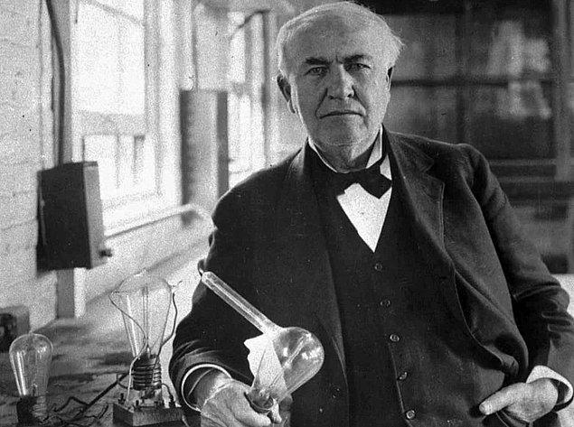 6. Thomas Edison, Bilim İnsanı