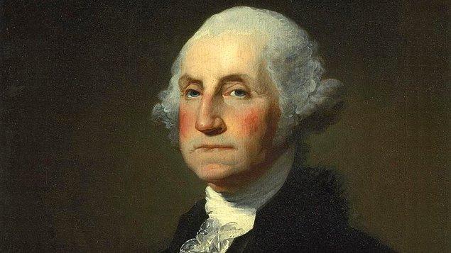 10. George Washington, ABD Başkanı