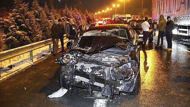 2017 yılında ölümlü ve yaralanmalı 15 bin 374 trafik kazası meydana geldi. Bu kazalarda 186 kişi yaşamını yitirirken, 21 bin 598 kişi de yaralandı.