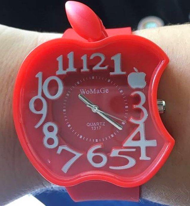 5. Sevgilisinin Apple saati çalınınca çalınma ihtimali olmayan bu saati alan sevgili gibi sevgili. 😂