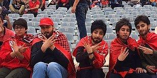 İran'da Kadınlar, Erkek Kılığına Girerek Futbol Maçı İzliyor!