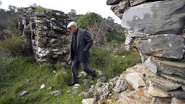 Arsa sahipleri antik kenti 35 milyon liraya satışa çıkardı.