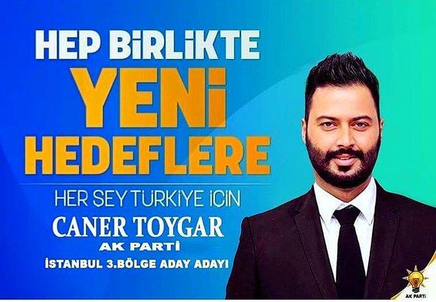 Caner Toygar - AKP İstanbul 3.Bölge