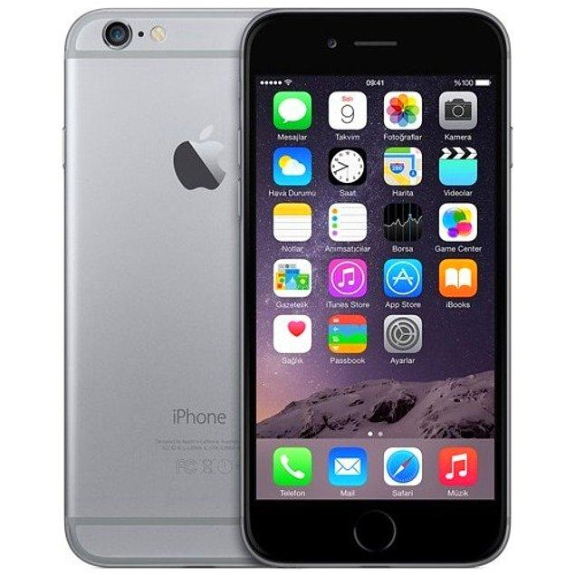 5. Yine kaliteden ödün vermeyen annelere birbirinden mükemmel özellikler sağlayacak Apple iPhone 6 32 GB