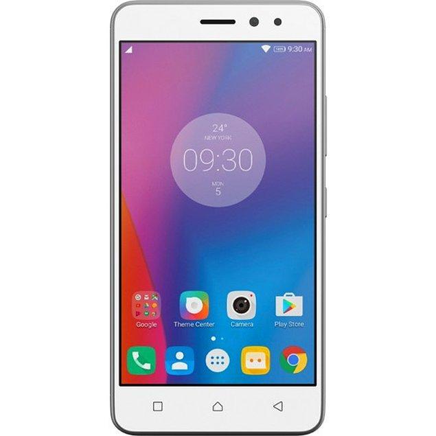 8. Android 6.0 Marshmallow işletim sistemi, 13MP arka kamerası, uzun batarya süresi ve çok uygun fiyatıyla yine gözde modellerden biri olan Lenovo K6