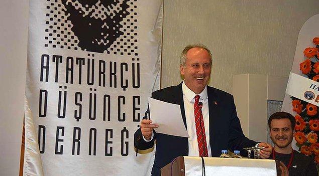 Atatürkçü Düşünce Derneği (ADD) Yalova İl Başkanı görevinde bulunan İnce, Yalovaspor'da basın sözcülüğü de yaptı.