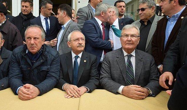 İnce, cumhurbaşkanlığı seçiminde CHP ve MHP'nin çatı aday olarak gösterdiği Ekmeleddin İhsanoğlu'na tepki göstermişti.