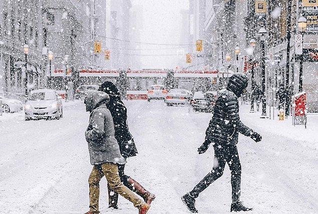 13. Soğuktan şikayetçi olanlar için gidilmeyecek ülke: Kanada