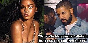 """""""Düşmanım Bile Değil!"""" Rihanna'nın Son Röportajı, Drake'i Yerin Dibine Gömdü! 😱"""