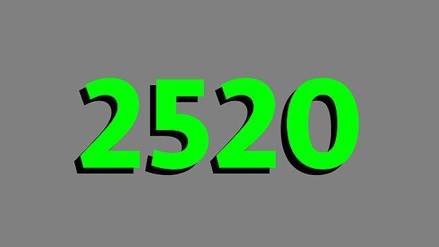 15. 1'den 10'a bütün sayılalara küsüratsız bölünebilen en küçük sayı 2520'dir.