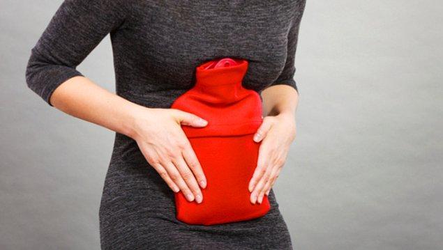 15. Çektiğiniz ağrıyı dindirmeye çalışırken sıcak su torbaları en iyi arkadaşınız olur.