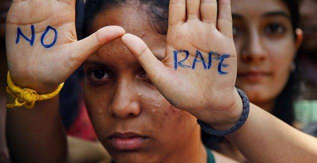 Hindistan'da tecavüz çok ciddi bir sorun.