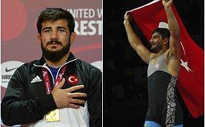 🏅 Çifte Zafer: Milli Güreşçilerimiz Taha Akgül ve Soner Demirtaş Avrupa Şampiyonu Oldu!