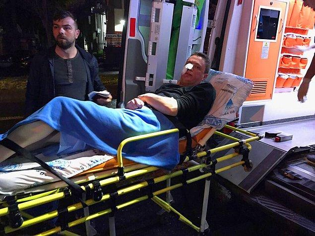 Ağır yaralanan kişinin Çapa Tıp Fakültesi'ne sevk edildiği aktarıldı.