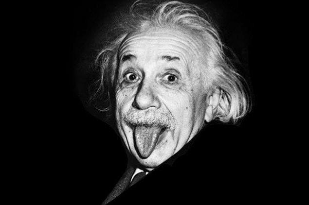 2. Albert Einstein tam bir avcıydı!