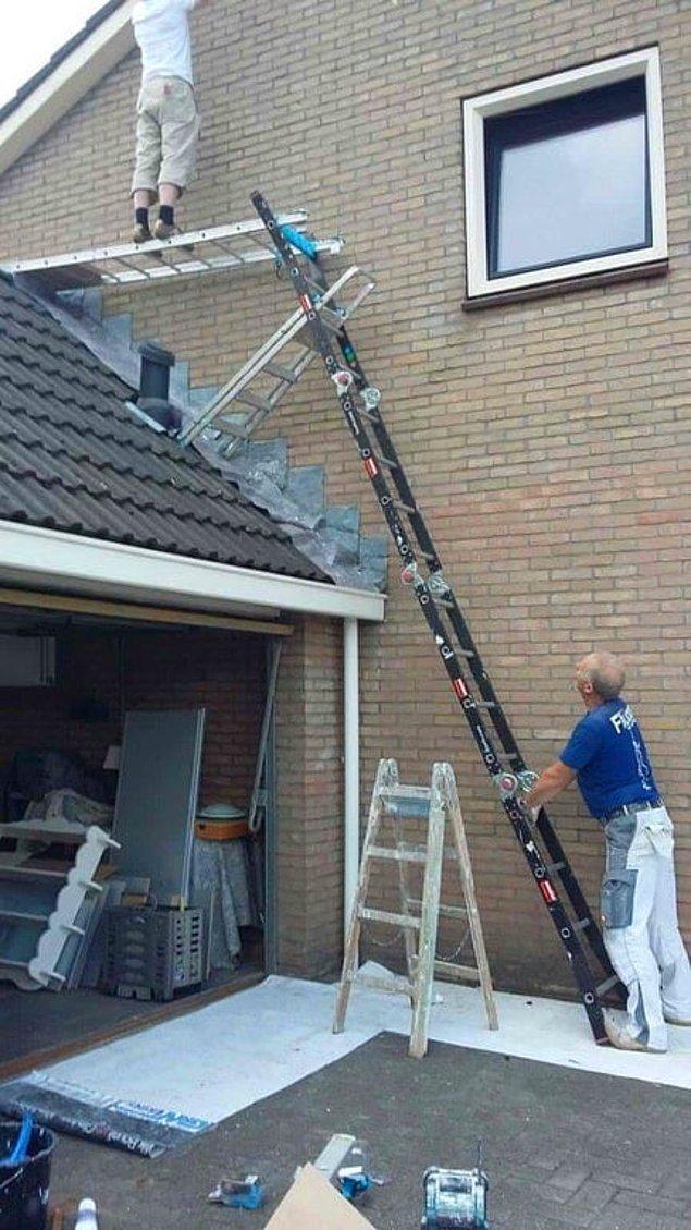 8. Olağanüstü bir merdiven mühendisliği.