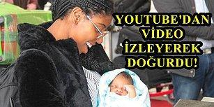 Hamile Olduğunu Fark Etmedi, 17 Saatliğine Geldiği İstanbul'da Kendi Başına Doğum Yaptı!