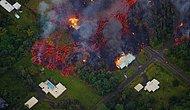 Hawaii'de Lavlar Evleri Yutarak İlerliyor! On Binler Kilauea Yanardağı'nın Felaketinden Kaçıyor