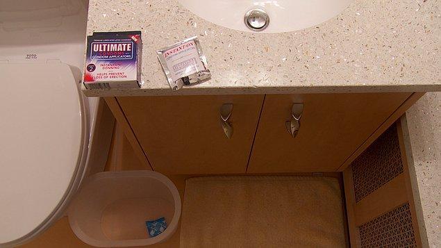 17. Kondomlarımızı banyoda tutmayalım çünkü ısı ve nem kauçuk dokuyu aşındırabilir.