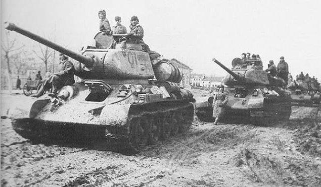 10. Afrikadaki Nazi orduları, tankların deve dışkısı üzerinden geçmesinin iyi şans getirdiğine inanıyorlardı.