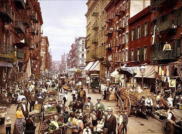 15. 19. yüzyılda New York bir at dışkısı sorunuyla karşı karşıya kaldı.