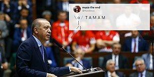 Atılan Tweetler 1 Milyonu Aştı! Erdoğan'ın 'Millet Tamam Derse Çekiliriz' Açıklaması Sosyal Medyanın Gündeminde