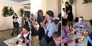 Öğrencilerin Sınıf Arkadaşına Hazırladıkları Finaliyle Adeta Tokat Yemiş Etkisi Yaratan Sürpriz