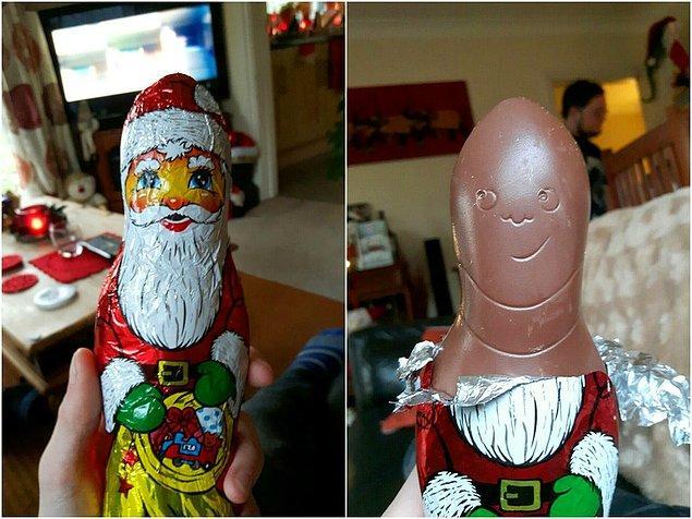 10. Bu maskenin ardında Noel Baba'dan fazlası var...