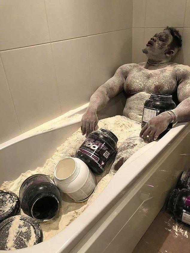 21. Bedenimi proteine boğun!