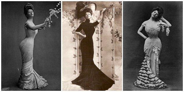 1. 1900'lü yıllarda Amerika Birleşik Devletleri'nde ideal olan vücut tipi: Gibson Girl
