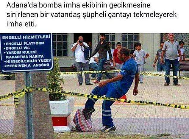 13. Bu, yalnızca Adana'da yaşanabilirdi zaten...