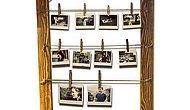 Sevdiklerinin Fotoğraflarıyla Duvarları Süslemeye Bayılan Annelerimiz İçin: Ahşap Fotoğraf Çerçevesi!