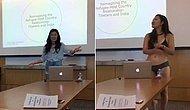 ABD Cornell Üniversitesi'nde Profesörü 'Şortun Çok Kısa' Deyince Tamamen Soyunan Öğrenci