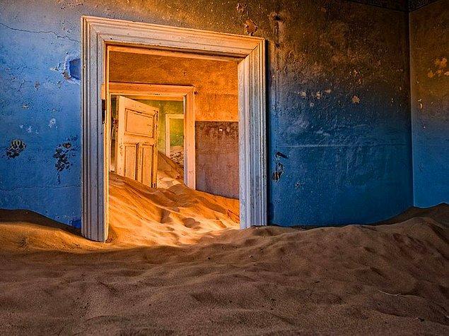 12. Kolmanskop, Namibya
