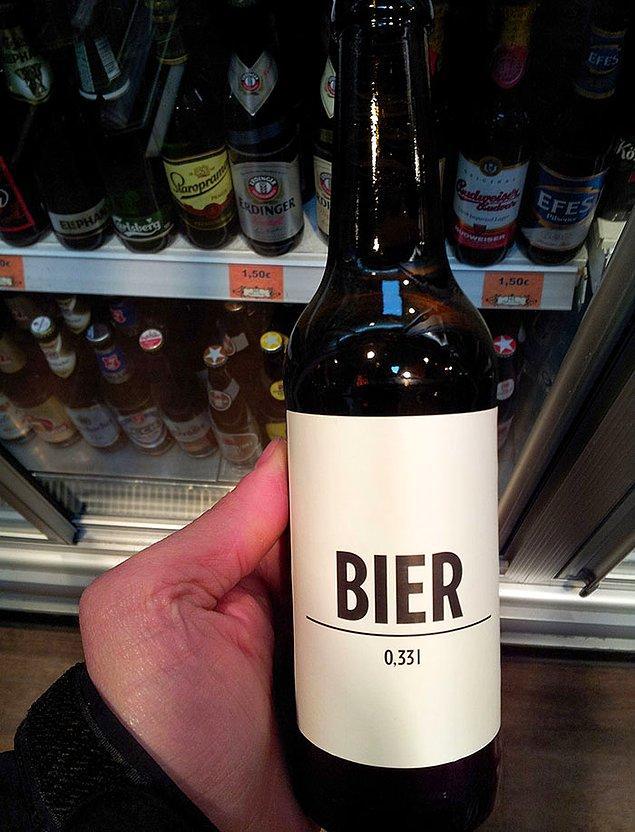 26. Almanya'da bir bira markasının tasarımı