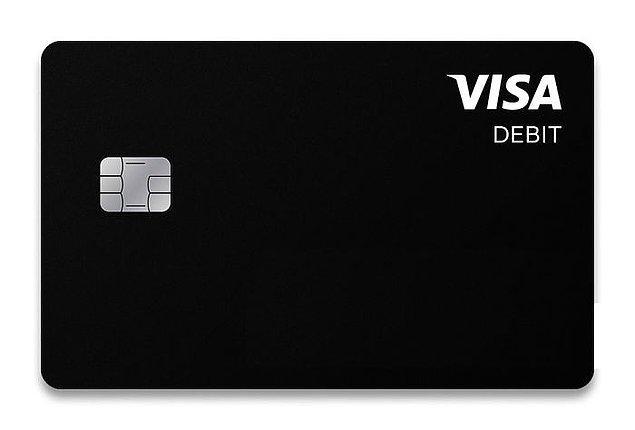 27. Yeni minimal bir kredi kartı tasarımı